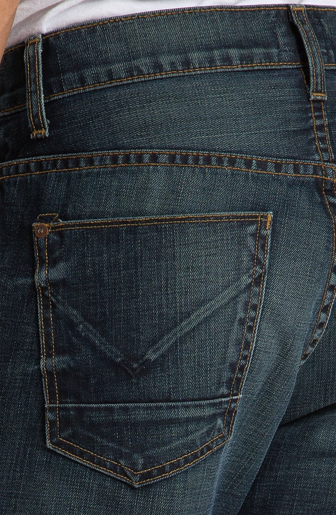 Alternate Image 4  - Hudson Jeans 'Dandy' Slouchy Straight Leg Jeans (Shovel)