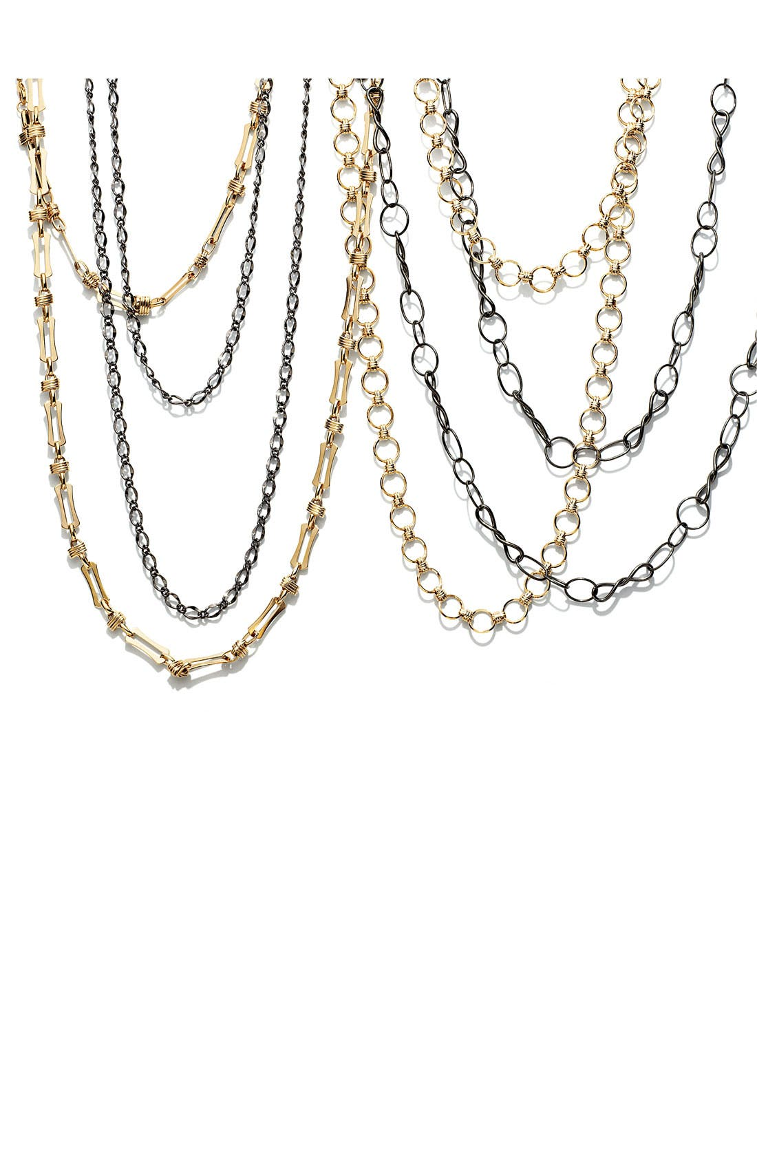 Alternate Image 2  - Nordstrom Long Link Necklace