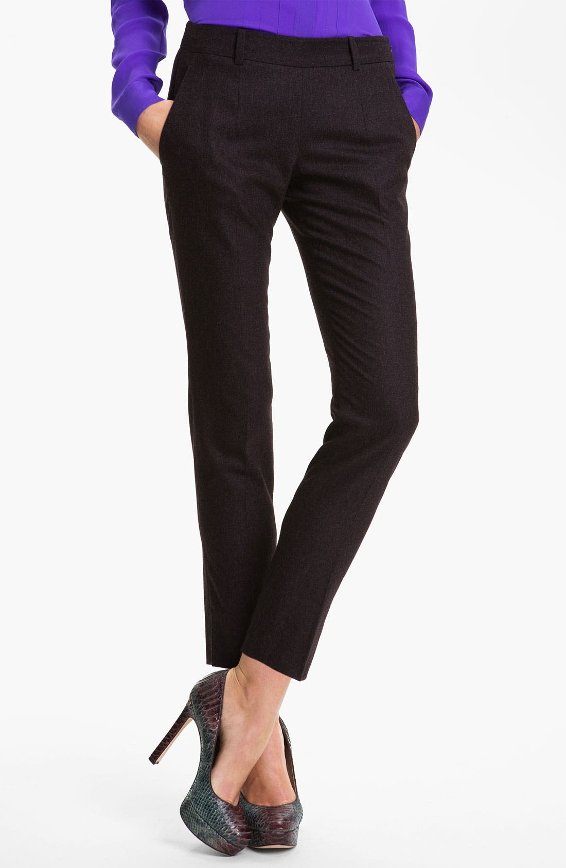 Main Image - Theory 'Bellisen' Slim Leg Ankle Pants