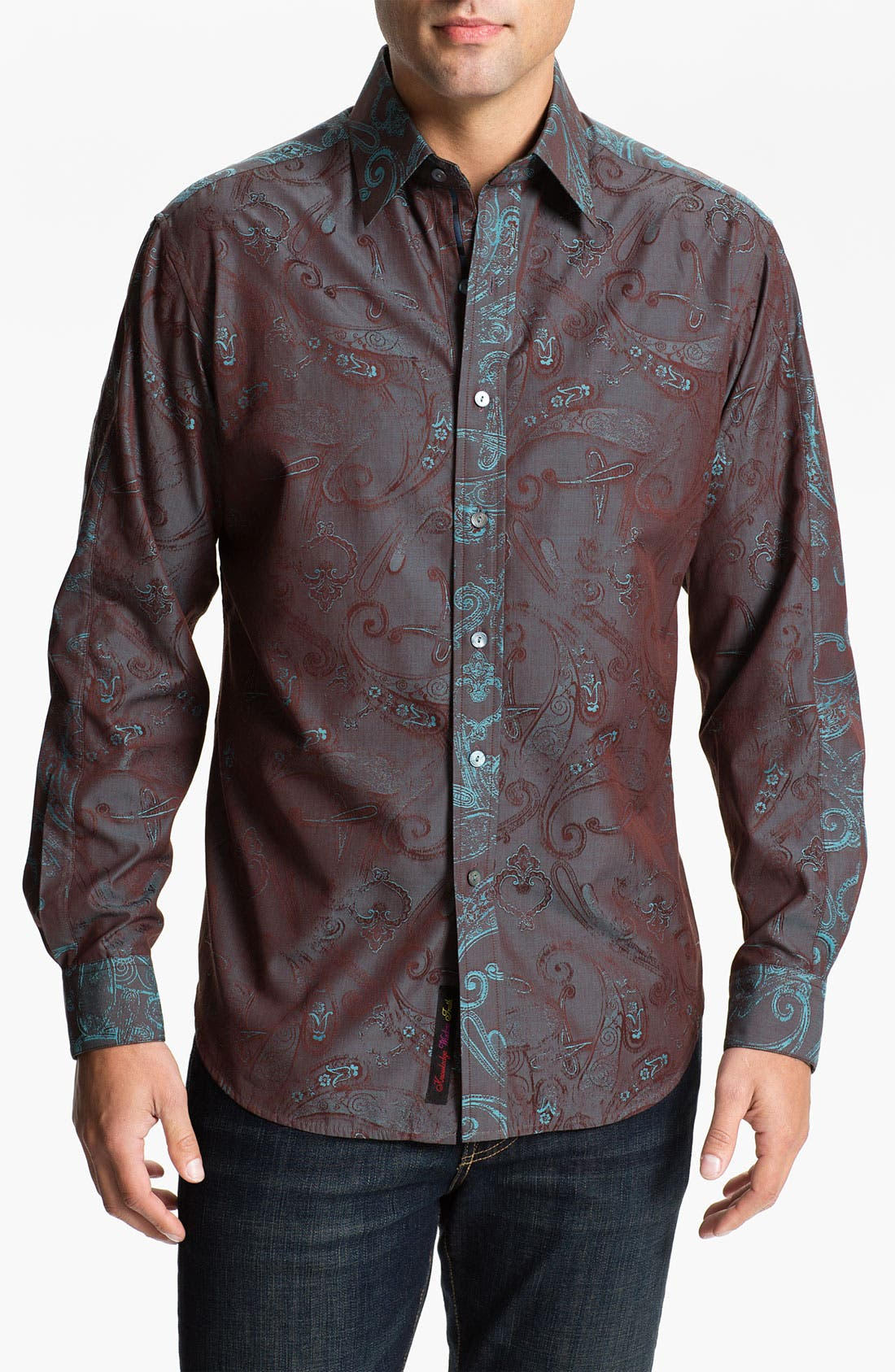 Alternate Image 1 Selected - Robert Graham 'Kingdom' Sport Shirt