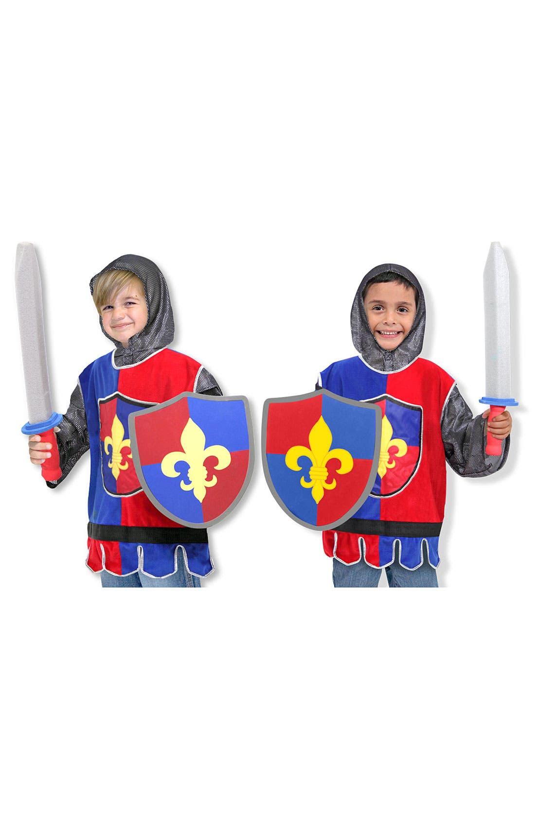 Main Image - Melissa & Doug 'Knight' Costume (Toddler)