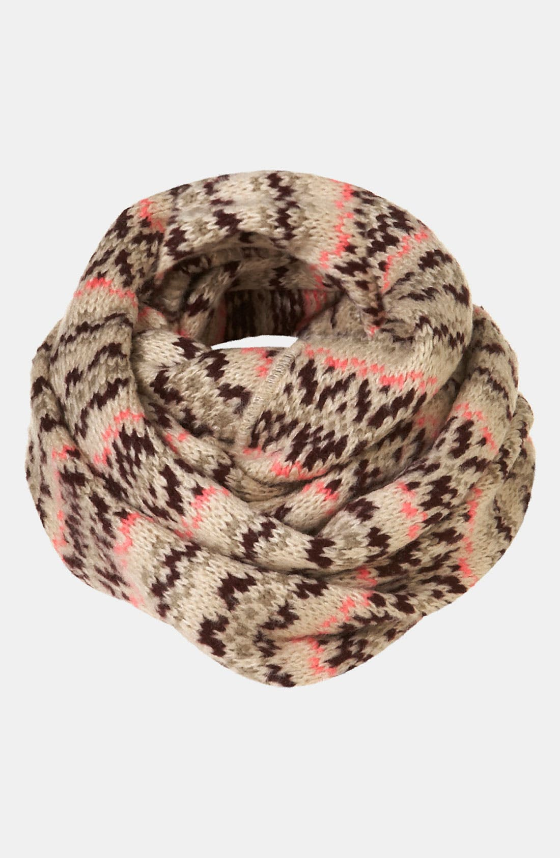 Alternate Image 1 Selected - Topshop Fair Isle Snood