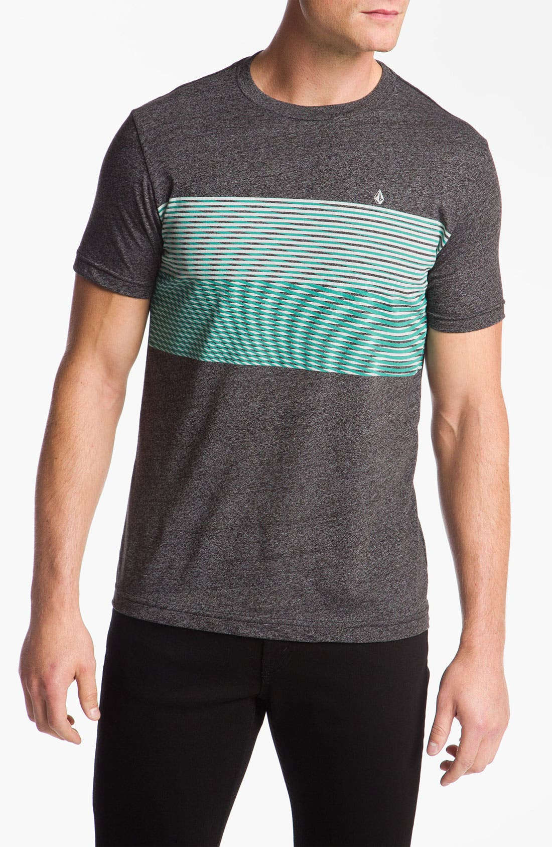 Alternate Image 1 Selected - Volcom 'Nue Volca' Stripe T-Shirt
