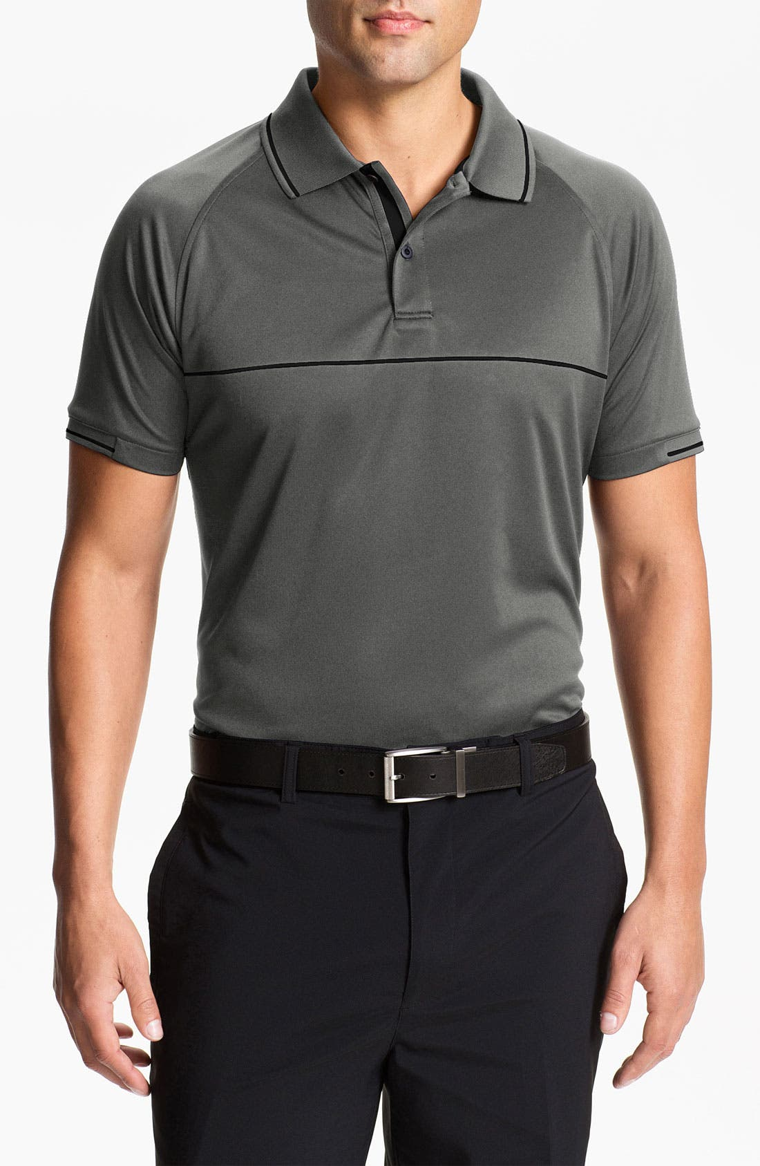 Alternate Image 1 Selected - Zero Restriction Regular Fit Polo (Online Only)