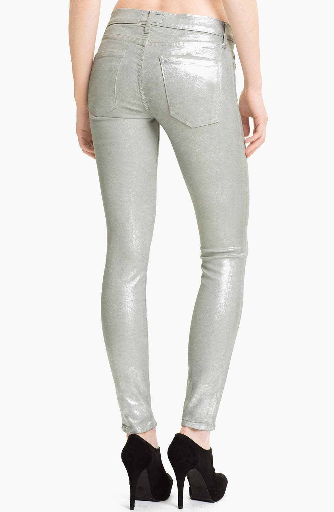 Alternate Image 2  - Current/Elliott Skinny Ankle Jeans