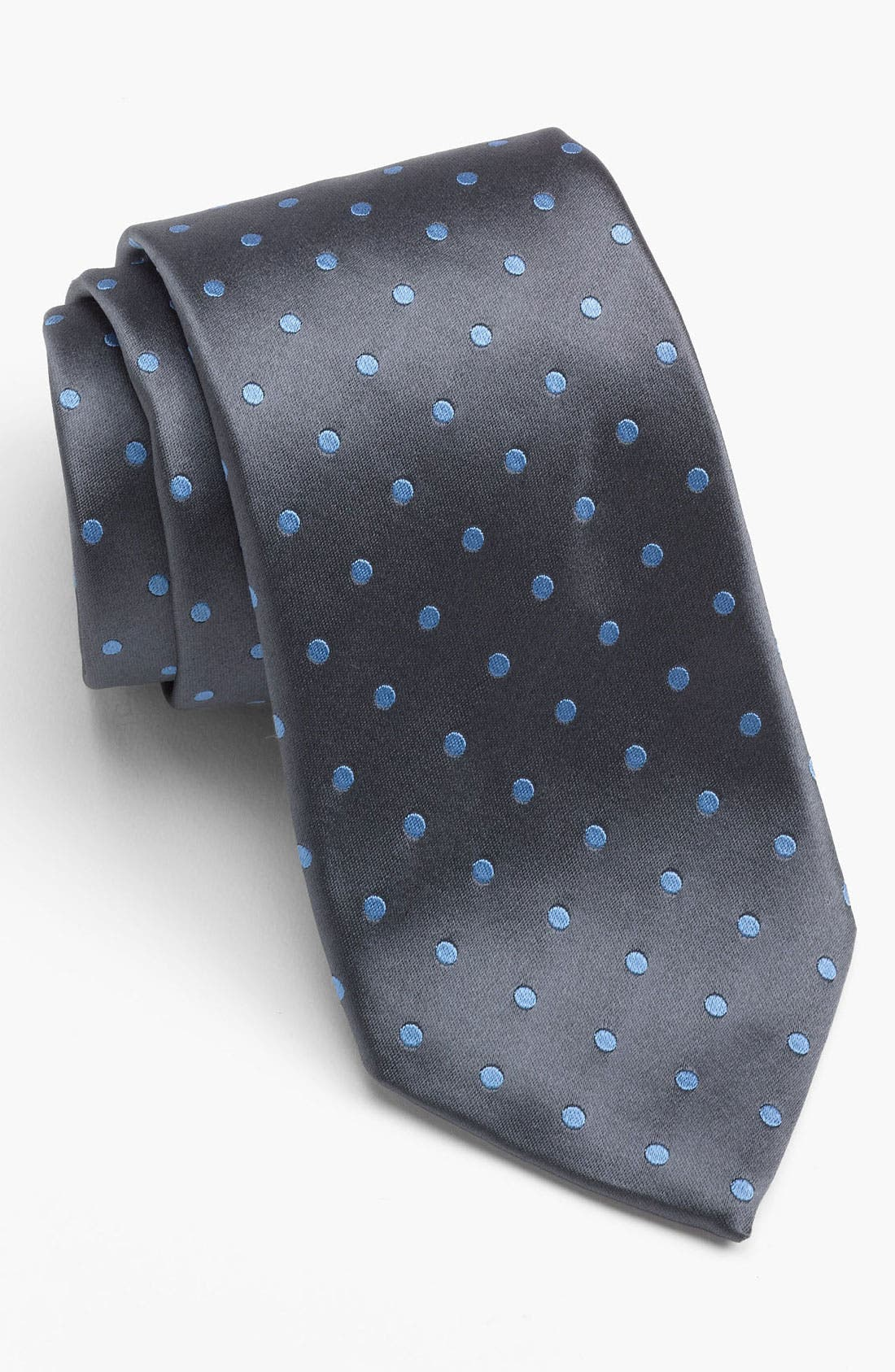 Alternate Image 1 Selected - David Donahue Dress Shirt & Tie