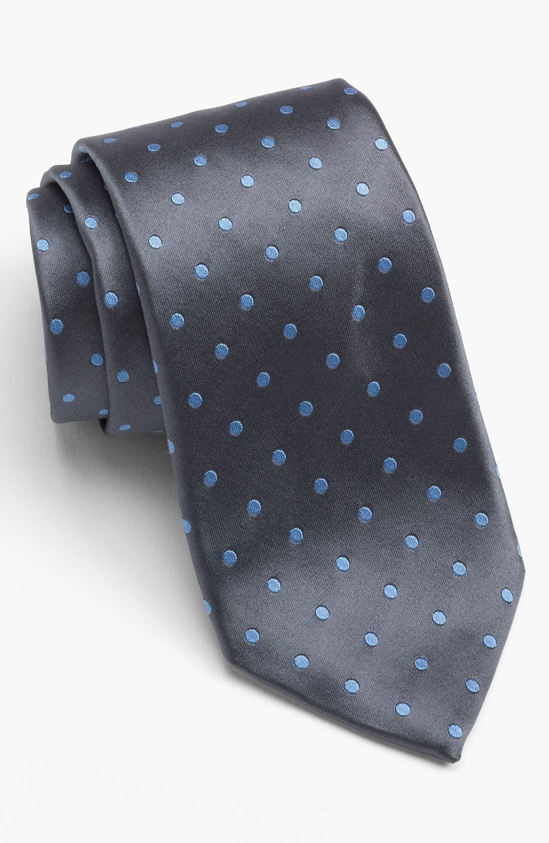 Main Image - David Donahue Dress Shirt & Tie