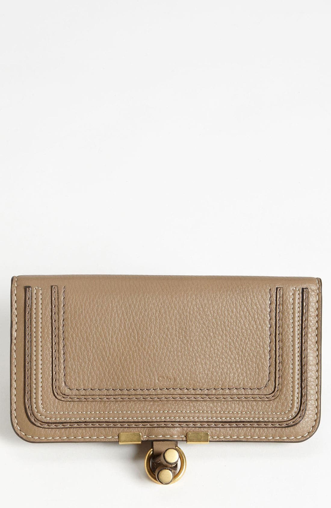 Main Image - Chloé 'Marcie' Continental Snap Wallet