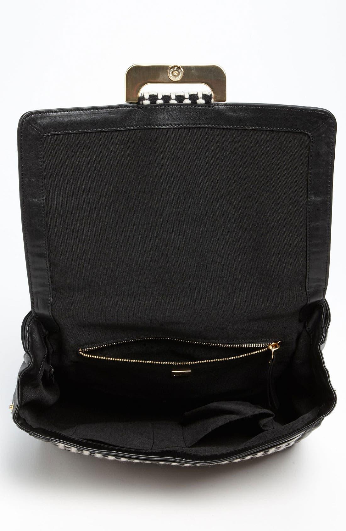 Alternate Image 3  - Diane von Furstenberg 'New Harper' Check Wool  Shoulder Bag