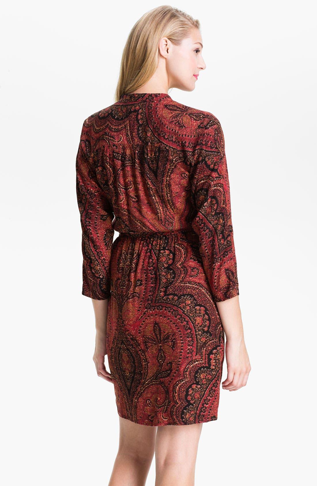 Alternate Image 2  - Lucky Brand 'Oriental Rug' Shirtdress (Online Exclusive)
