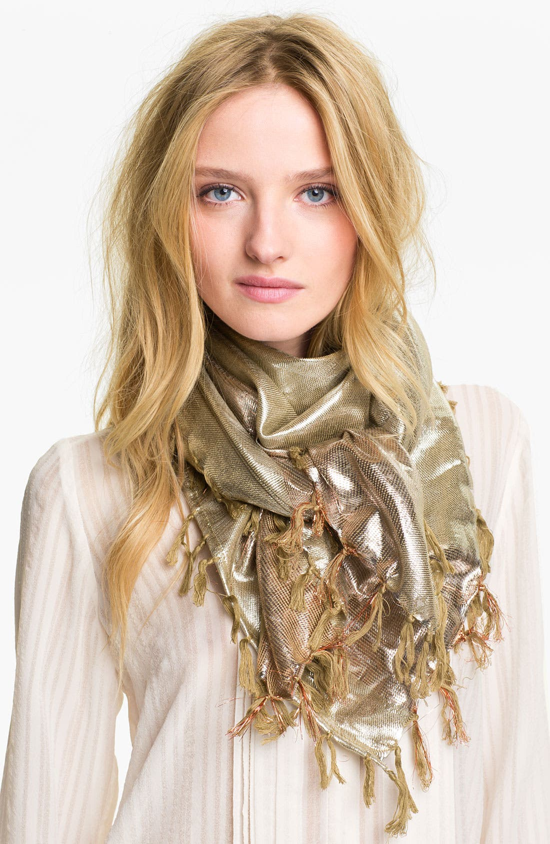 Alternate Image 1 Selected - Echo Metallic Scarf