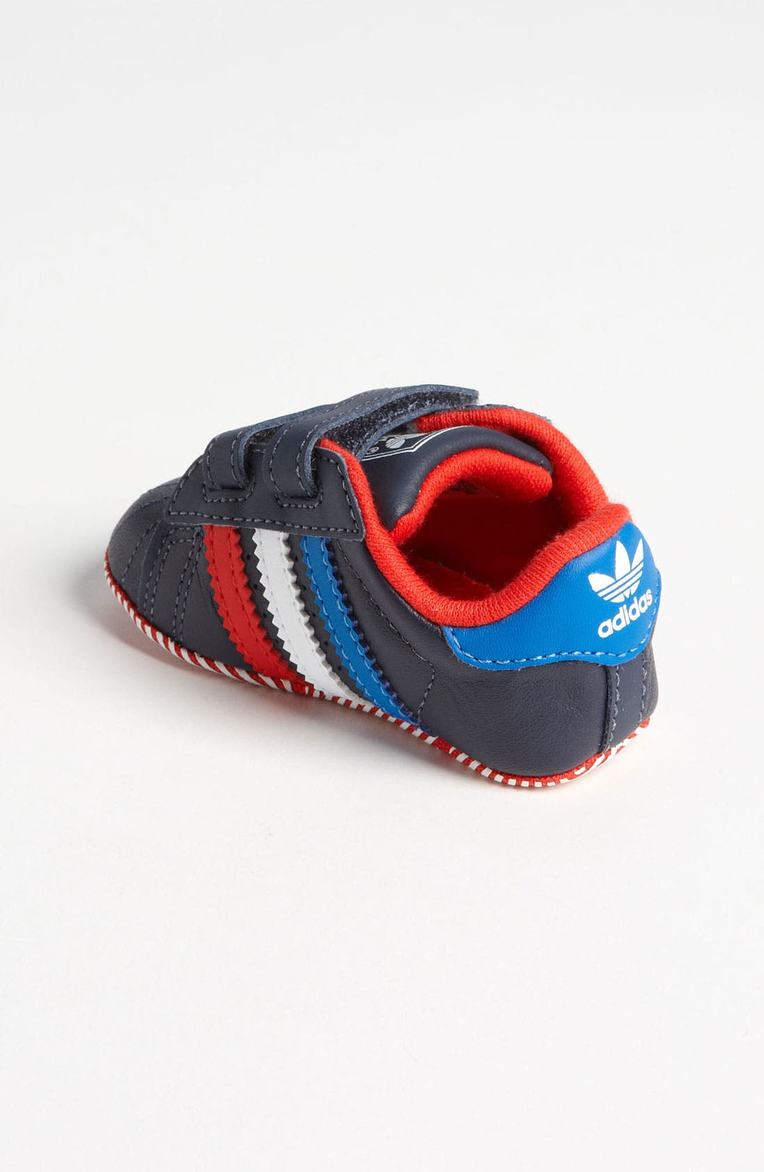 Alternate Image 2  - adidas 'Superstar 2' Crib Shoe (Infant)
