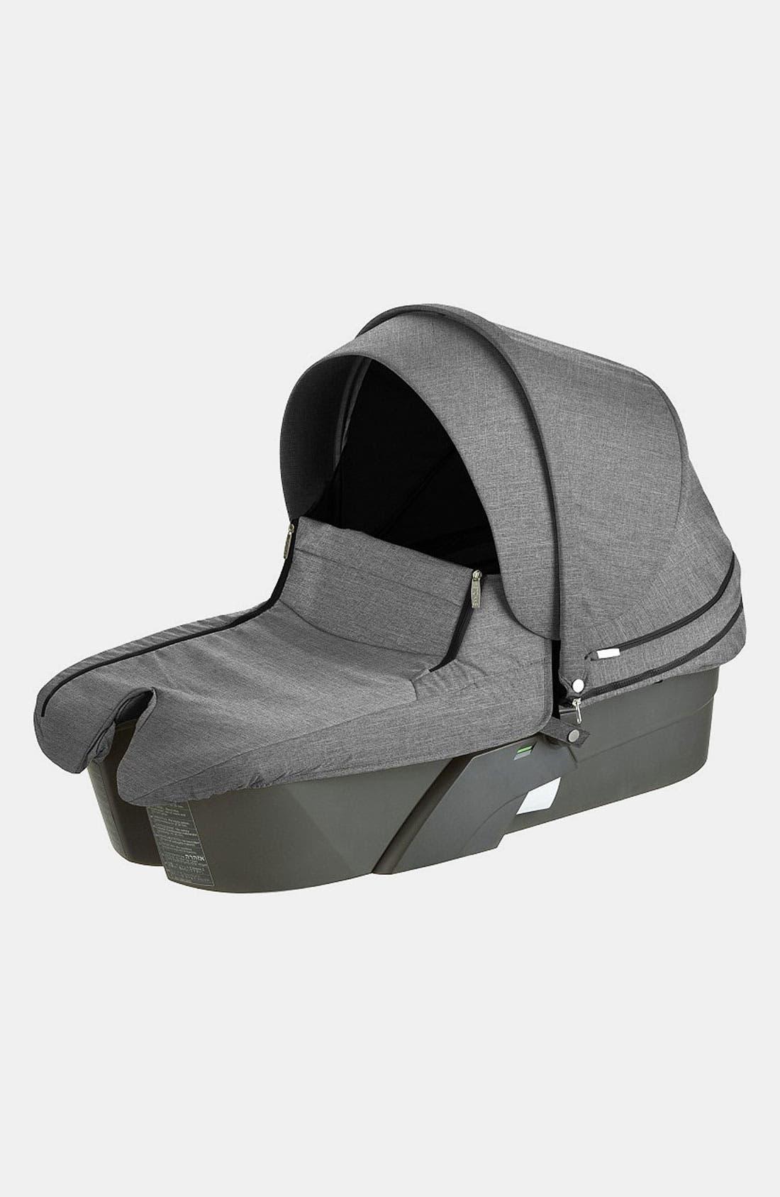 'Xplory<sup>®</sup>' Stroller Carry Cot,                         Main,                         color, Black Melange