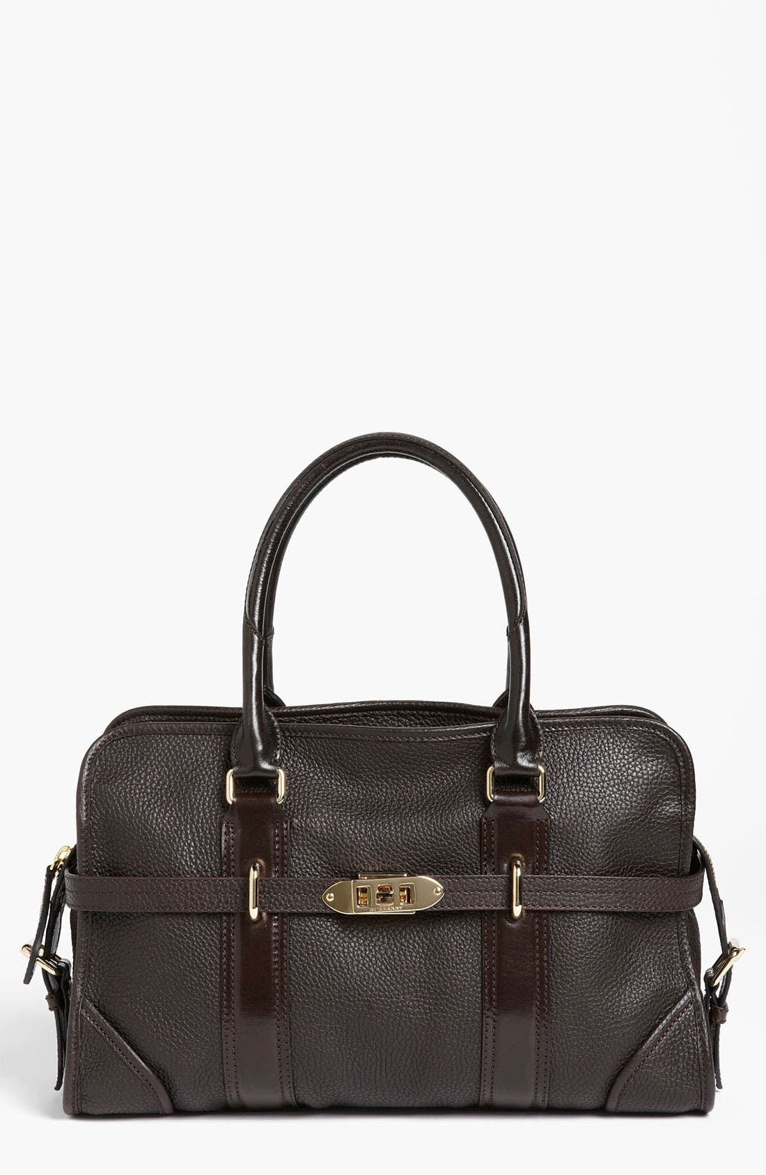 Alternate Image 1 Selected - Burberry 'London Grainy' Leather Tote