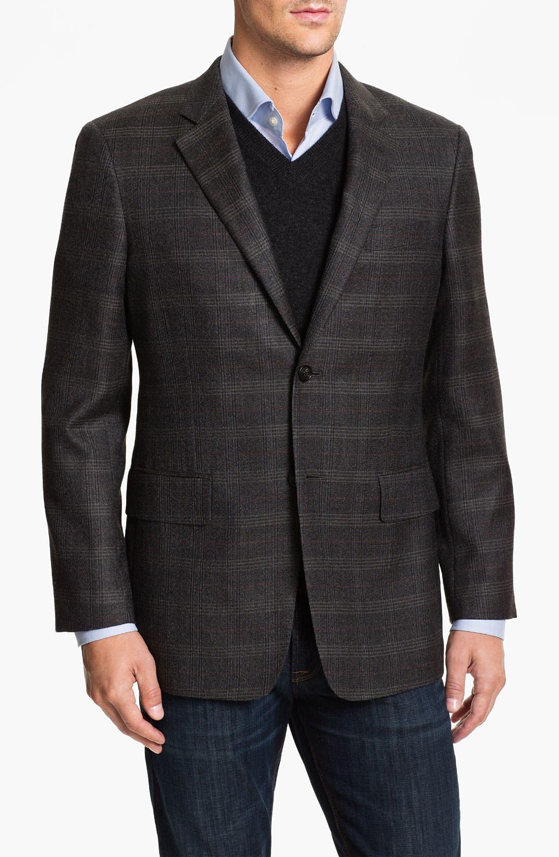 Alternate Image 1 Selected - John W. Nordstrom® Plaid Sportcoat