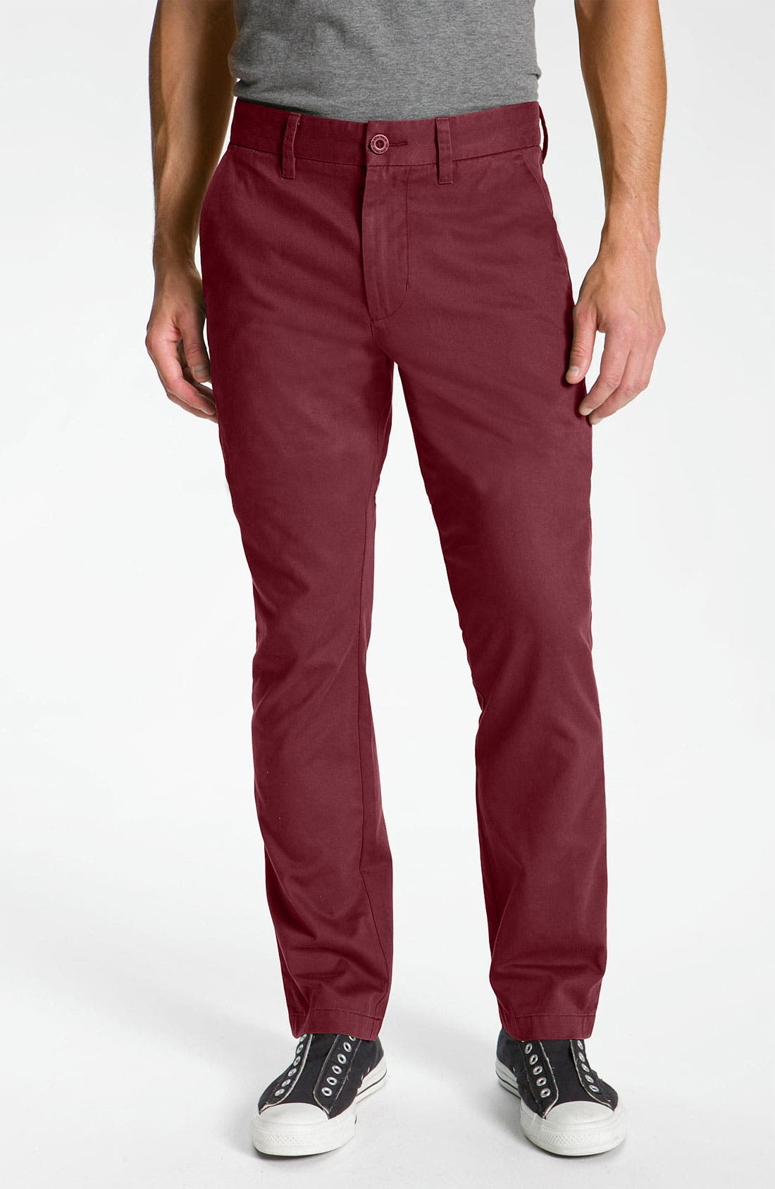 Alternate Image 1 Selected - life/after/denim Slim Straight Leg Chinos