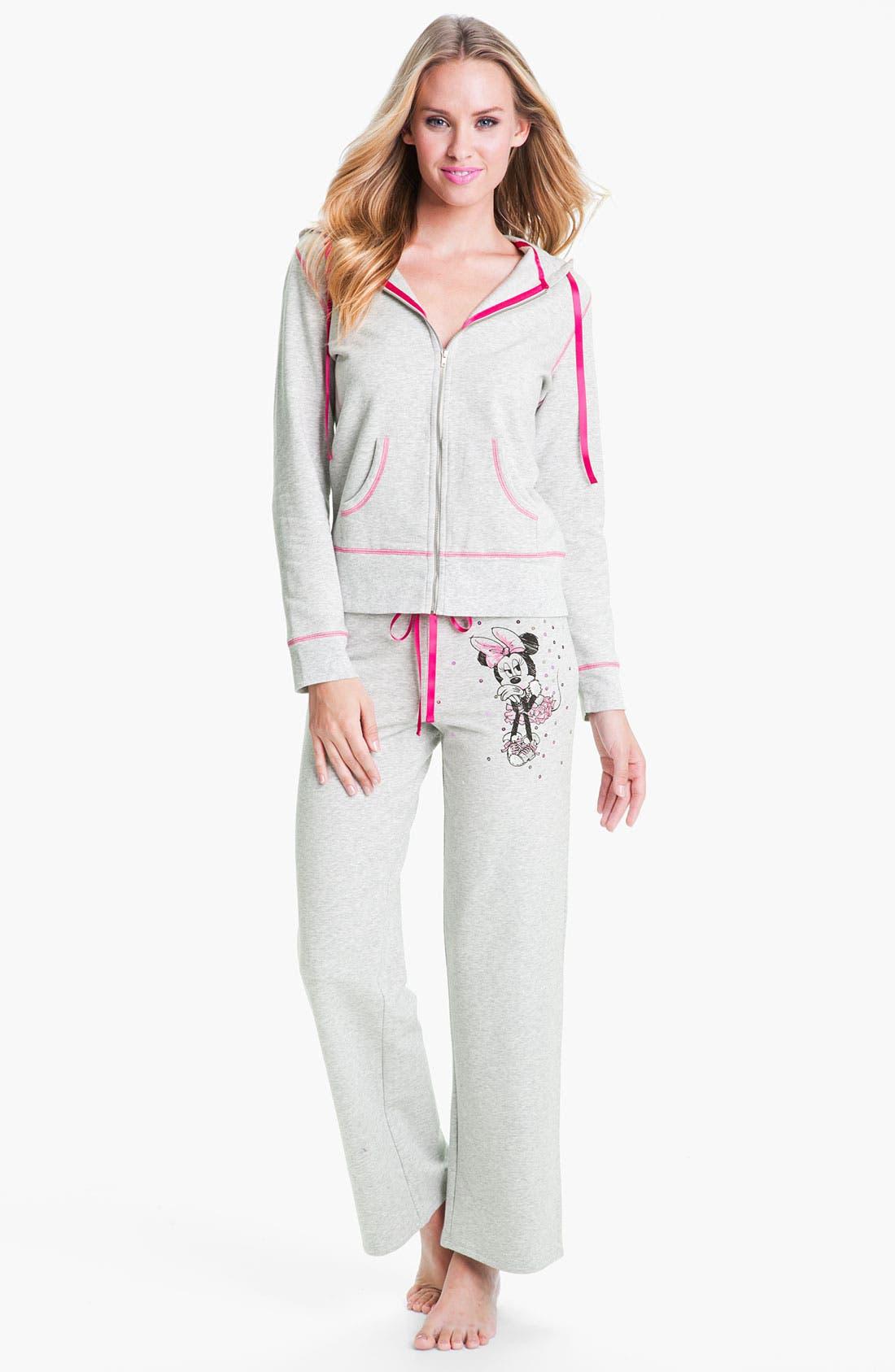 Alternate Image 4  - Betsey Johnson 'Minnie' Fleece Pants
