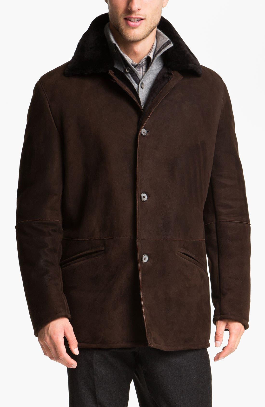 Main Image - Gian Franco Pagini Shearling Coat