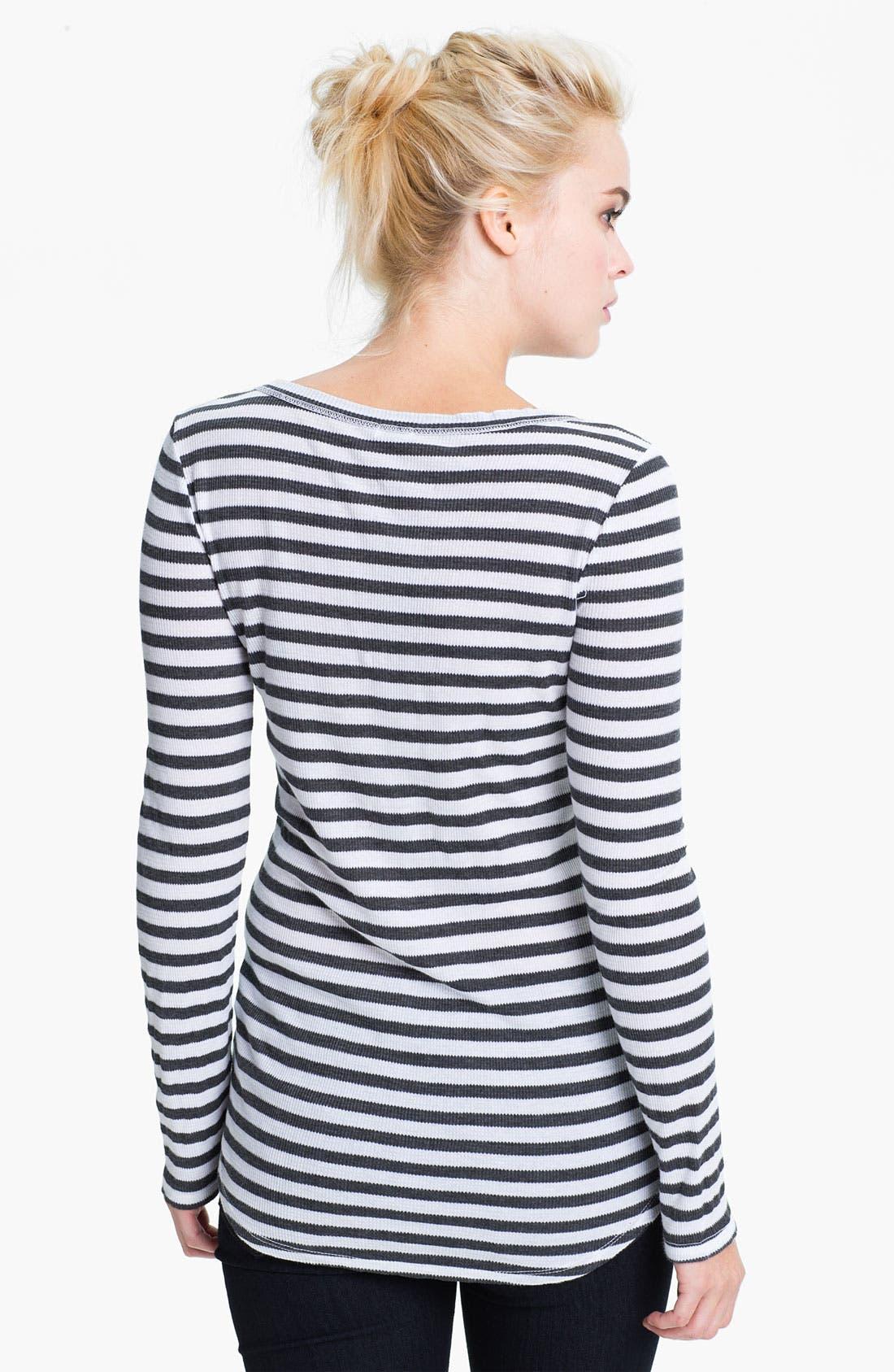 Alternate Image 2  - Splendid Nautical Stripe Henley