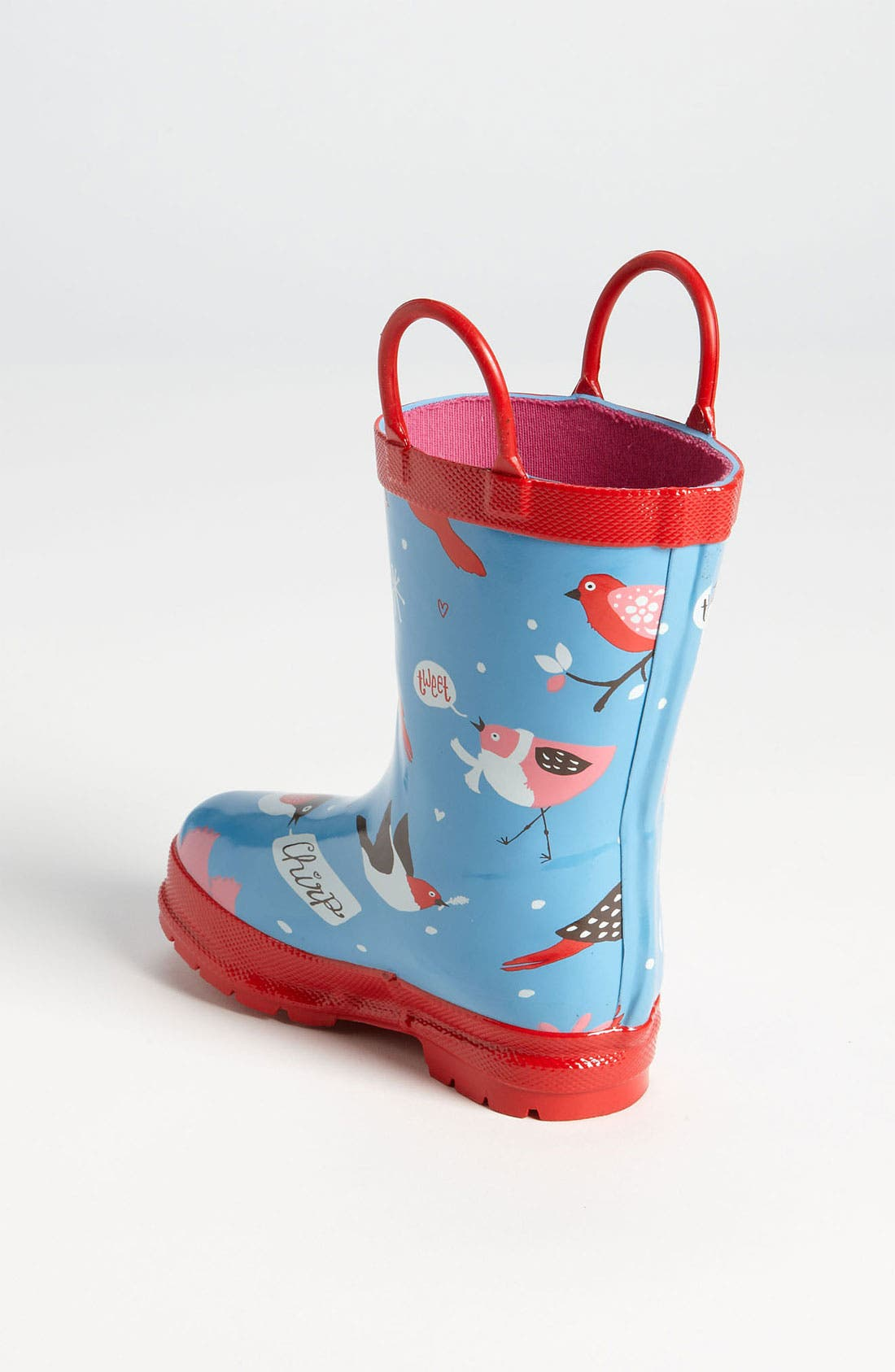 Alternate Image 3  - Hatley 'Winter Birds' Rain Boot (Walker, Toddler & Little Kid)