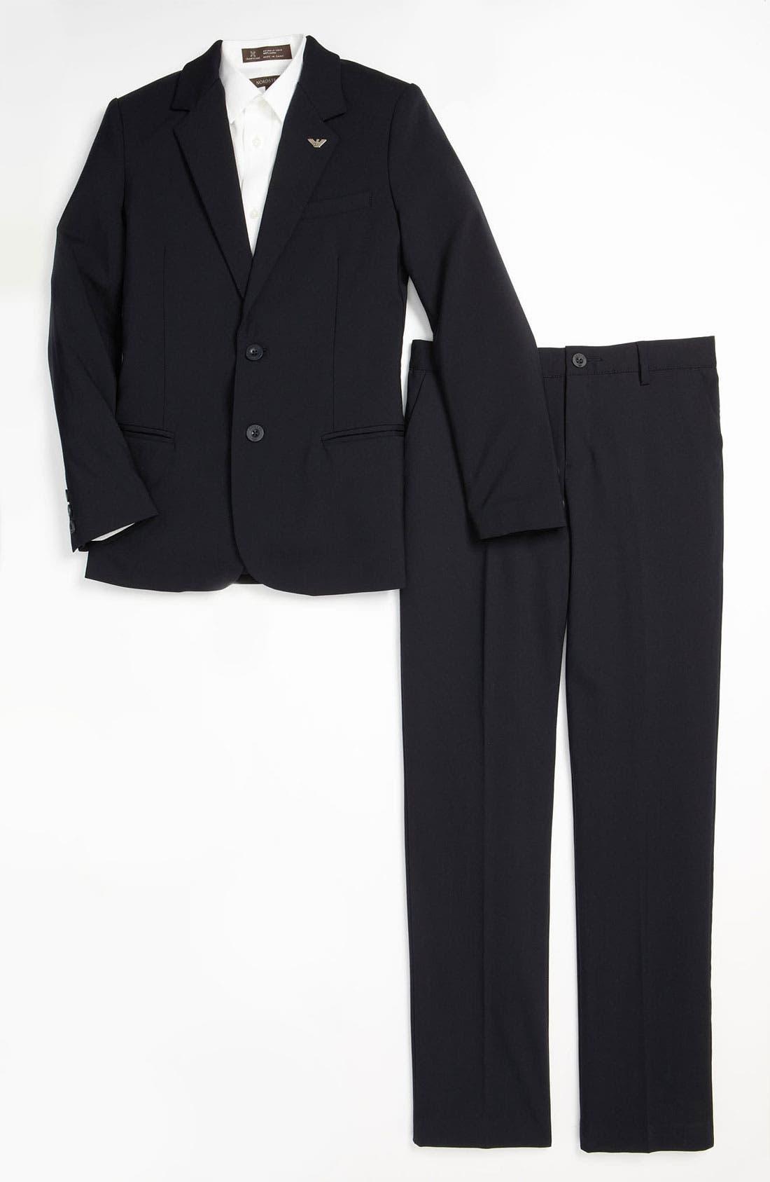 Alternate Image 1 Selected - Armani Junior Suit (Big Boys)