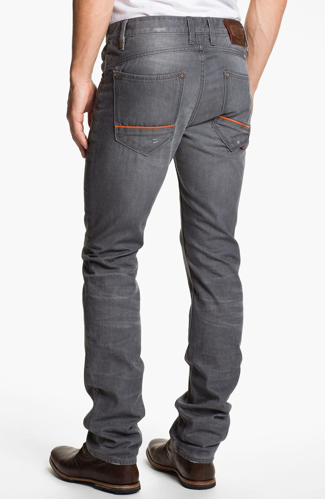 Alternate Image 2  - Robert Graham Jeans 'Grey Day' Slim Straight Leg Jeans (Grey)
