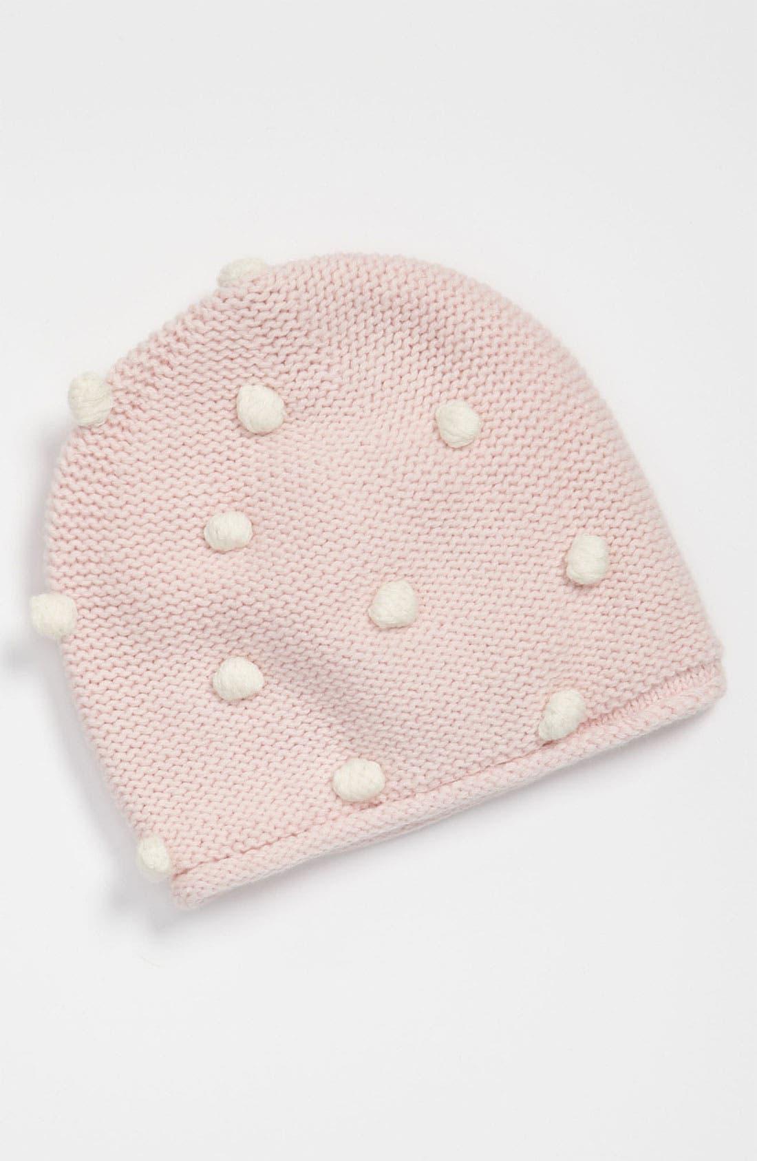 Alternate Image 1 Selected - United Colors of Benetton Kids Pompom Hat (Infant)