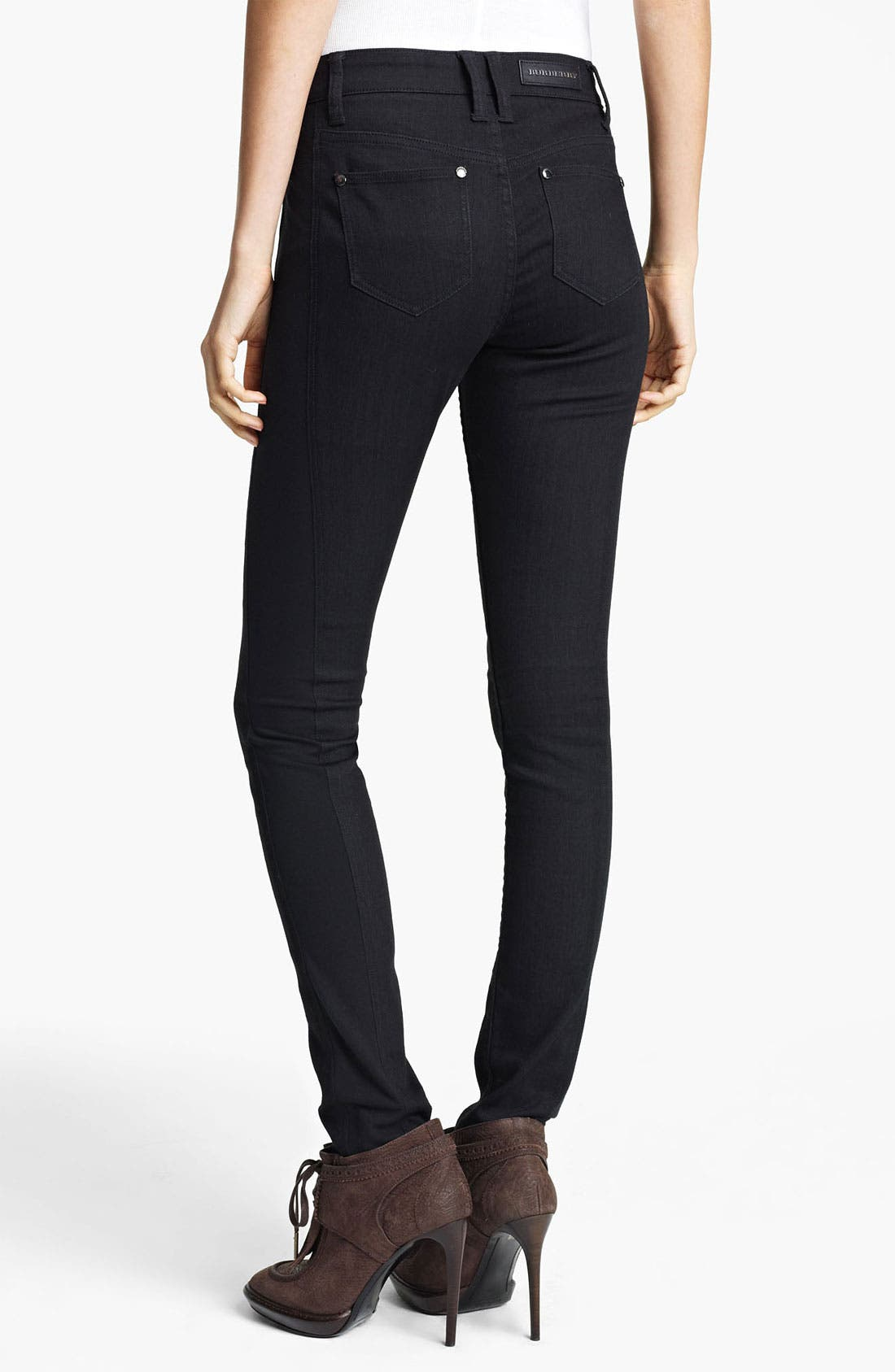 Alternate Image 1 Selected - Burberry London Skinny Stretch Jeans