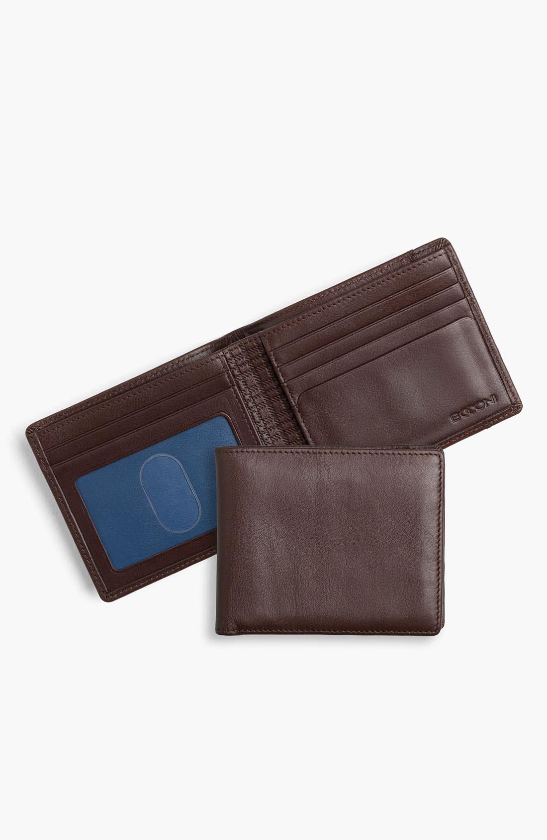 Main Image - Boconi Calfskin Wallet