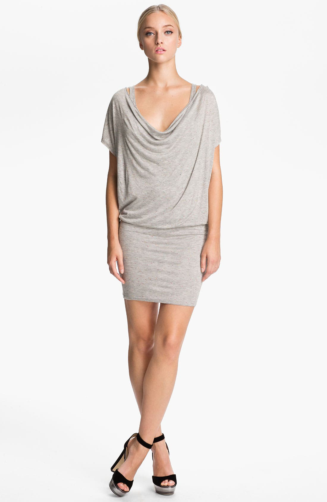 Main Image - Alice + Olivia Draped Jersey Dress