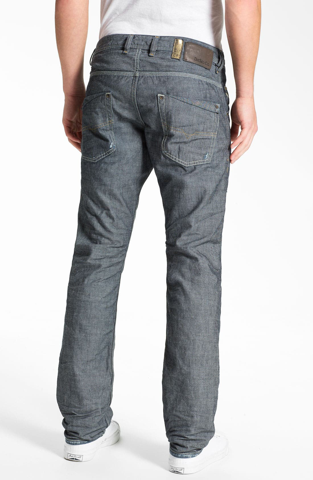 Alternate Image 1 Selected - DIESEL® 'Safado' Straight Leg Jeans (0809D)