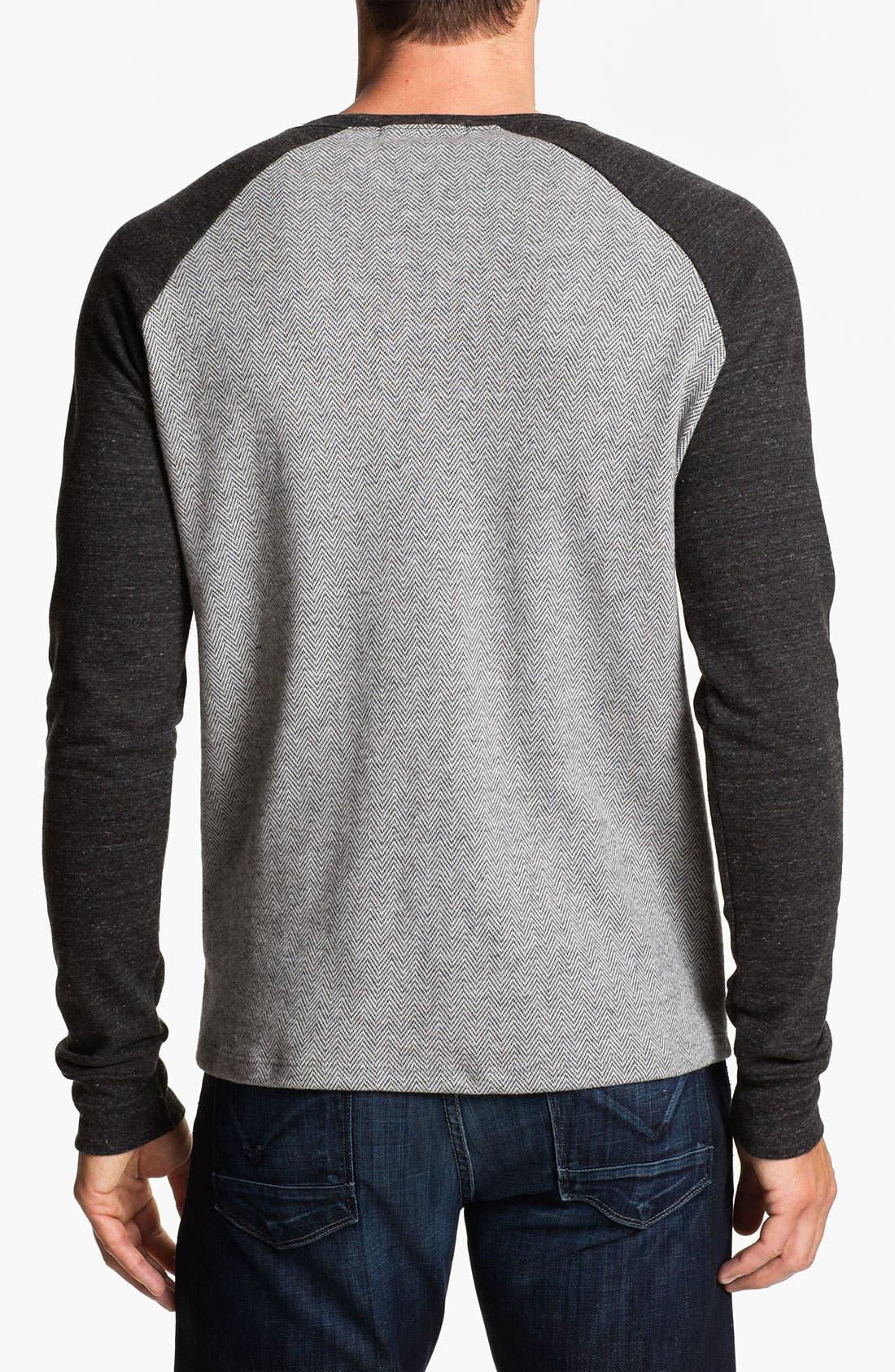 Alternate Image 2  - Threads for Thought Herringbone Sweatshirt