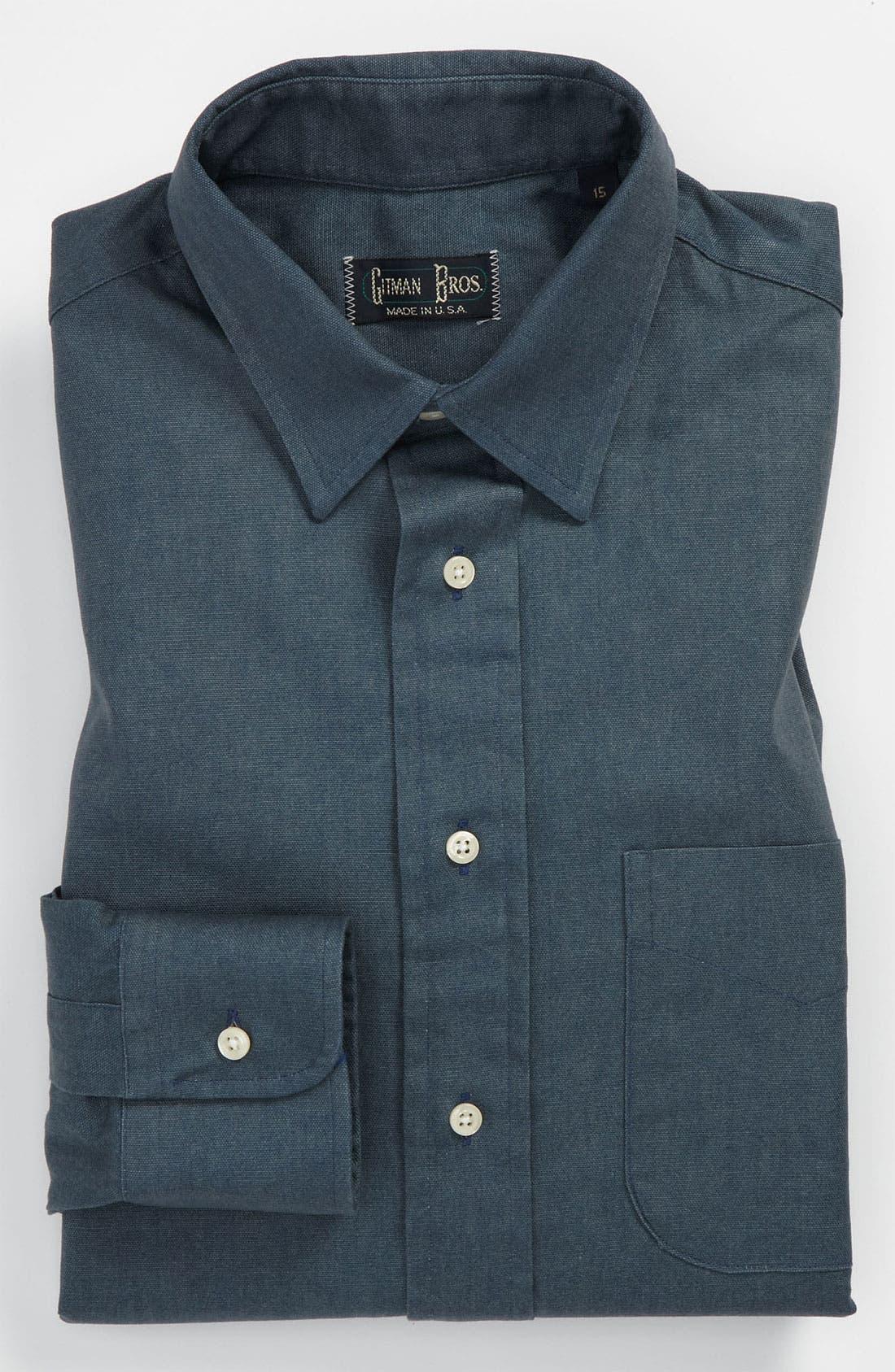 Alternate Image 1 Selected - Gitman Trim Fit Dress Shirt