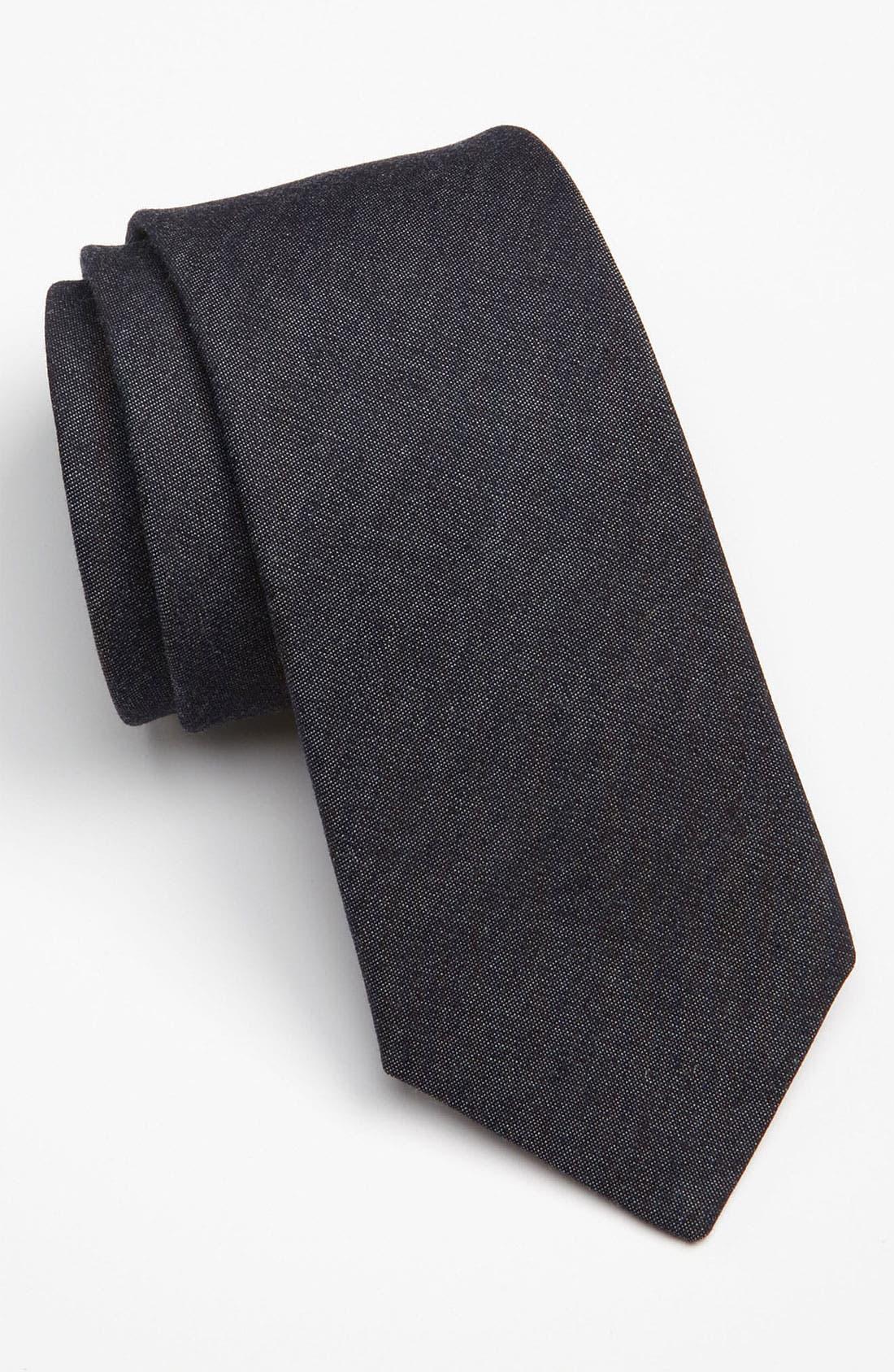 Main Image - Gitman Woven Tie (Online Exclusive)