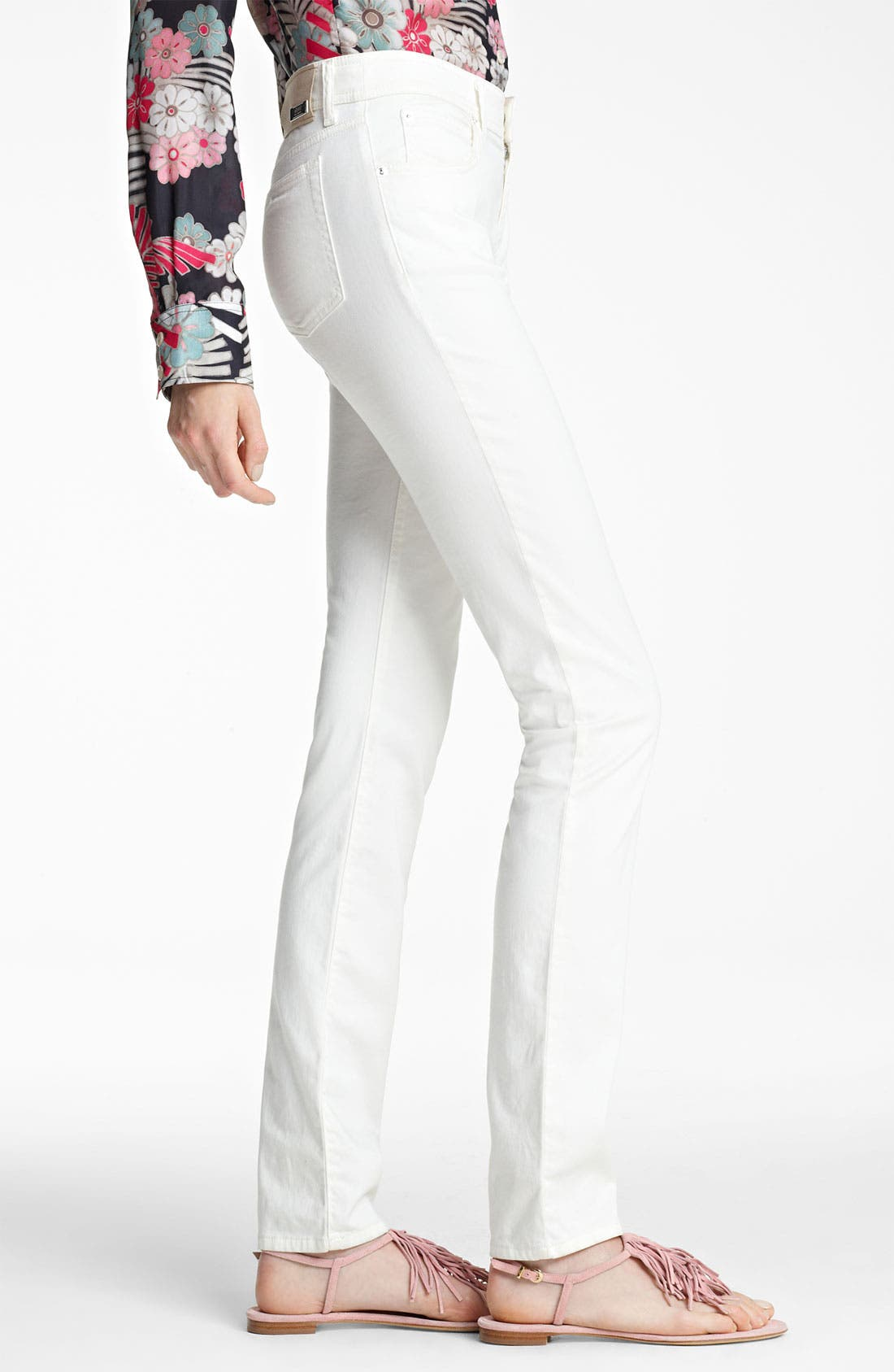 Alternate Image 3  - Armani Collezioni High Waist Stretch Jeans