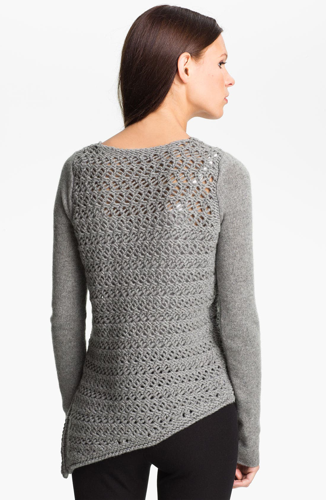 Alternate Image 2  - Helmut Lang Wool & Cashmere Pullover Sweater