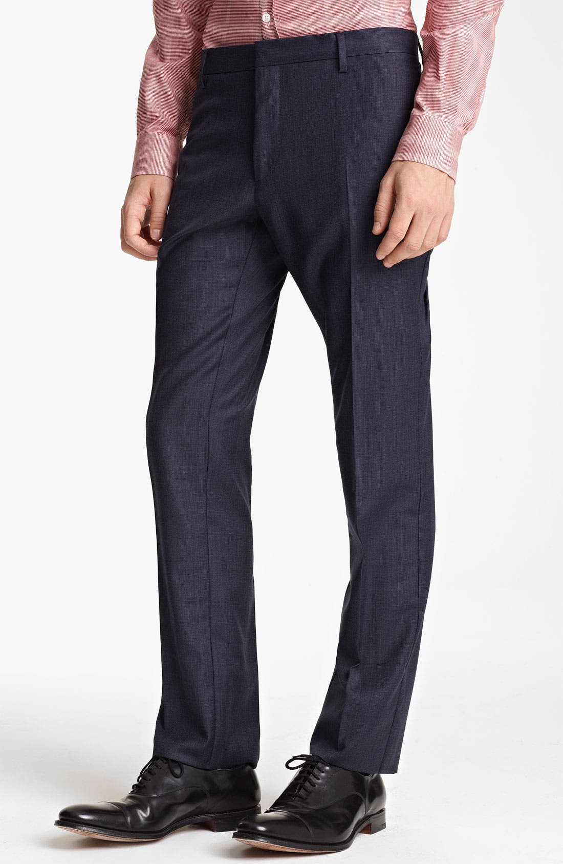 Alternate Image 4  - Burberry London Extra Trim Fit Wool Suit