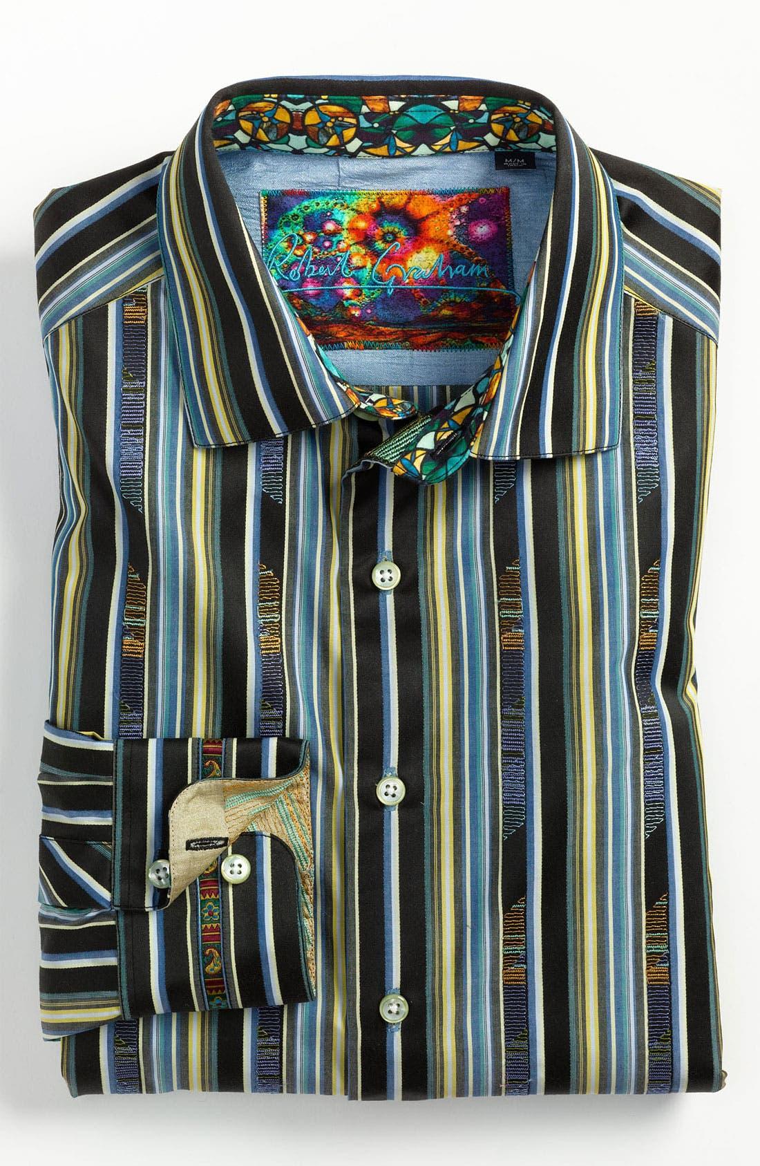 Alternate Image 2  - Robert Graham 'Gamboge' Sport Shirt