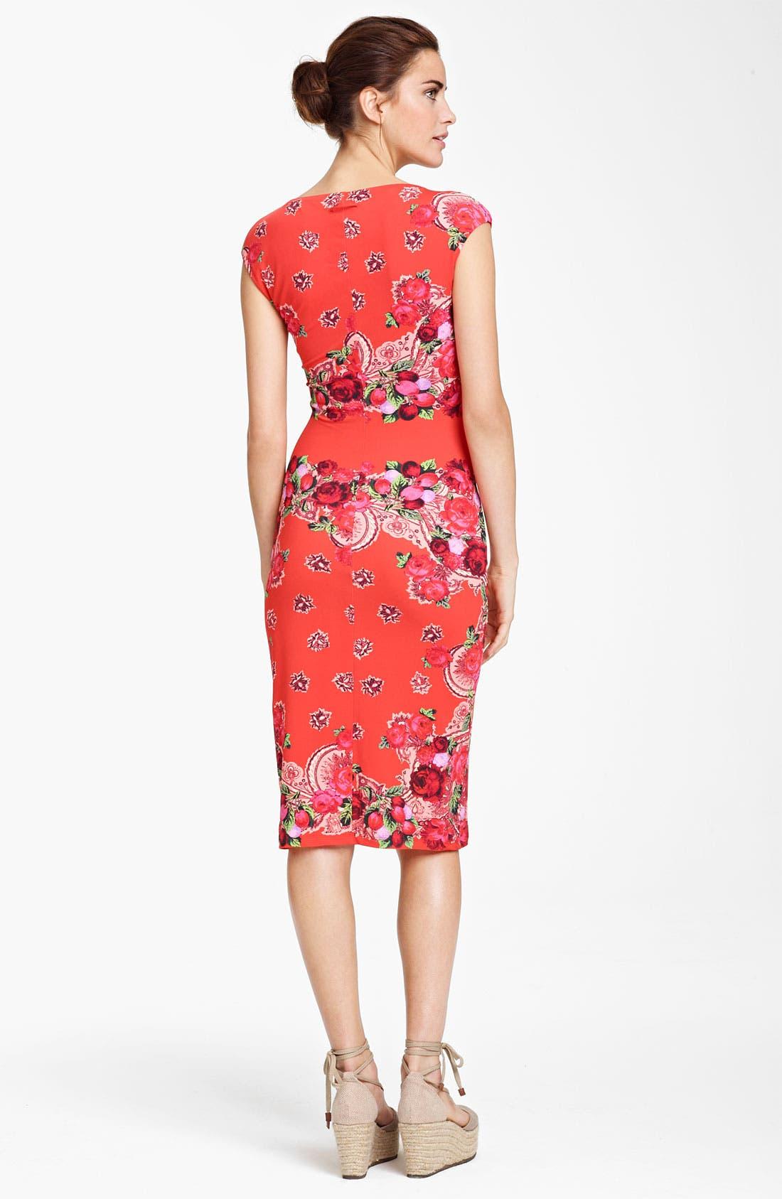 Alternate Image 2  - Jean Paul Gaultier Fuzzi Fitted Jersey Dress
