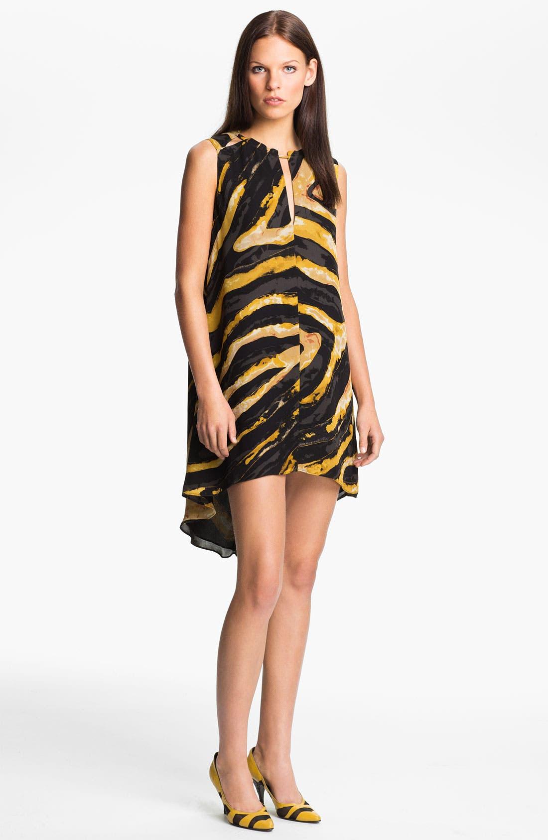 Alternate Image 1 Selected - Kelly Wearstler 'Hidden Dragon Current' Silk Dress