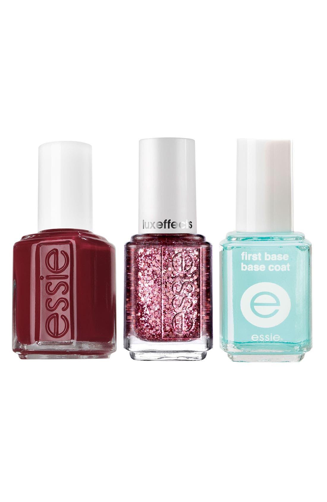 Main Image - essie® 'Razzle Dazzle Manicure - Red' Nail Trio