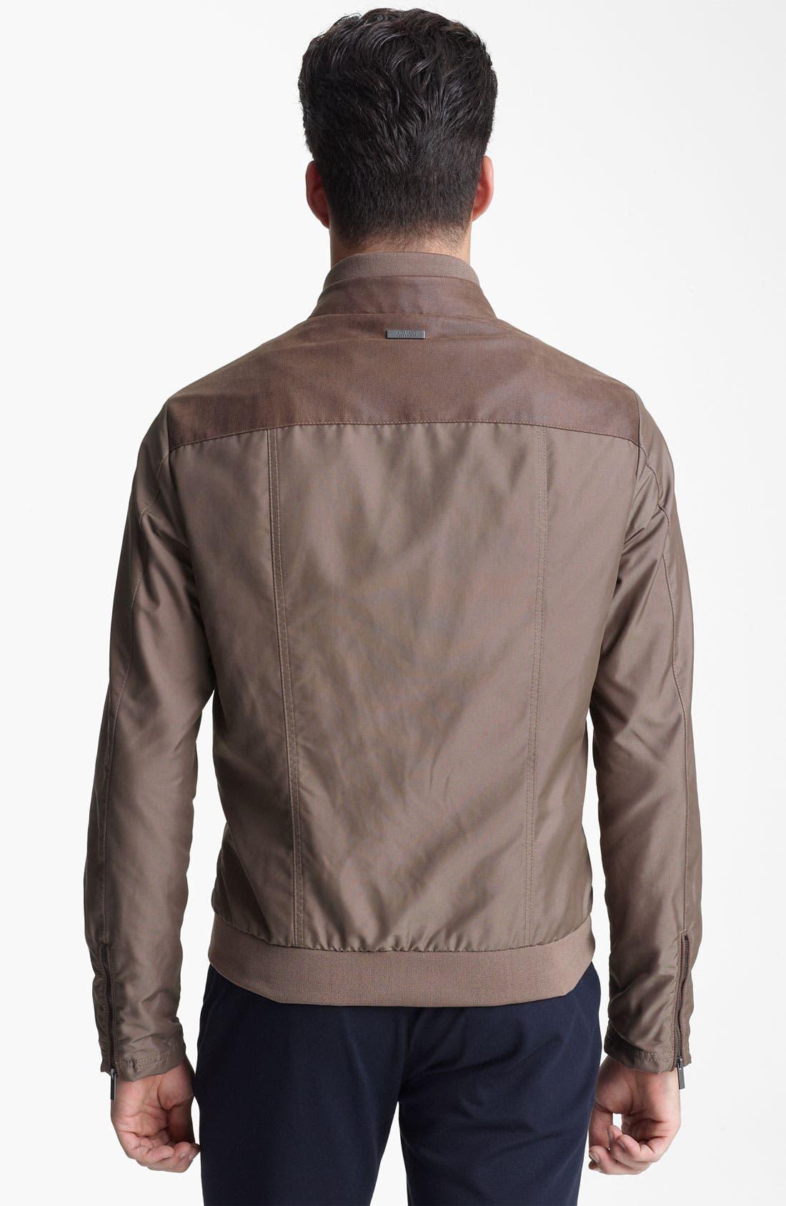 Alternate Image 2  - Armani Collezioni Lightweight Jacket