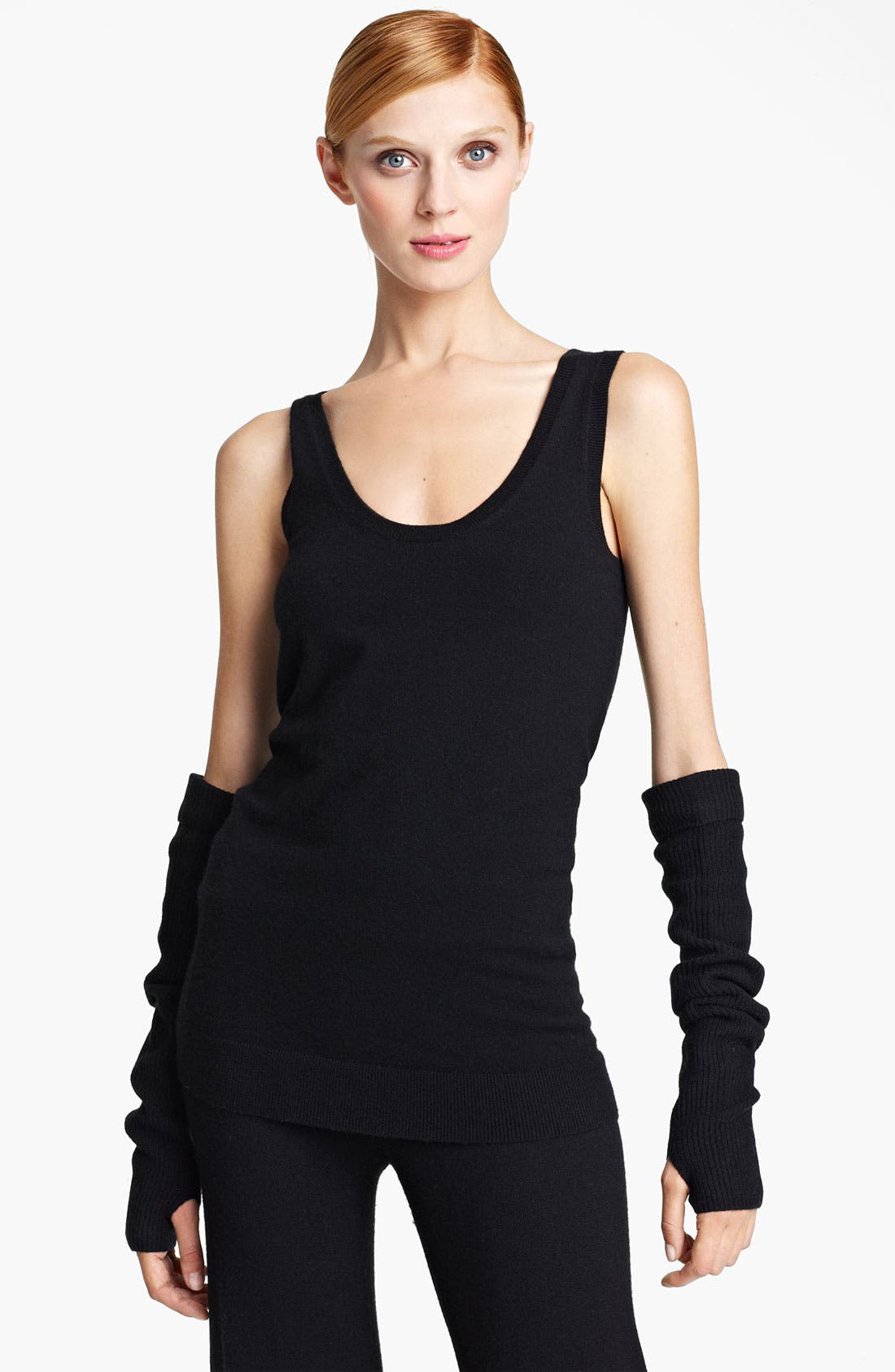 Main Image - Donna Karan Collection 'First Layer' Cashmere Blend Tank