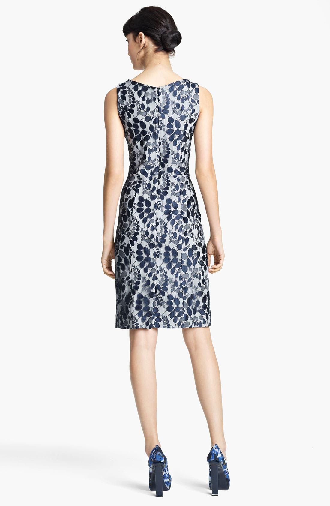Alternate Image 2  - Erdem Sleeveless Lace Sheath Dress