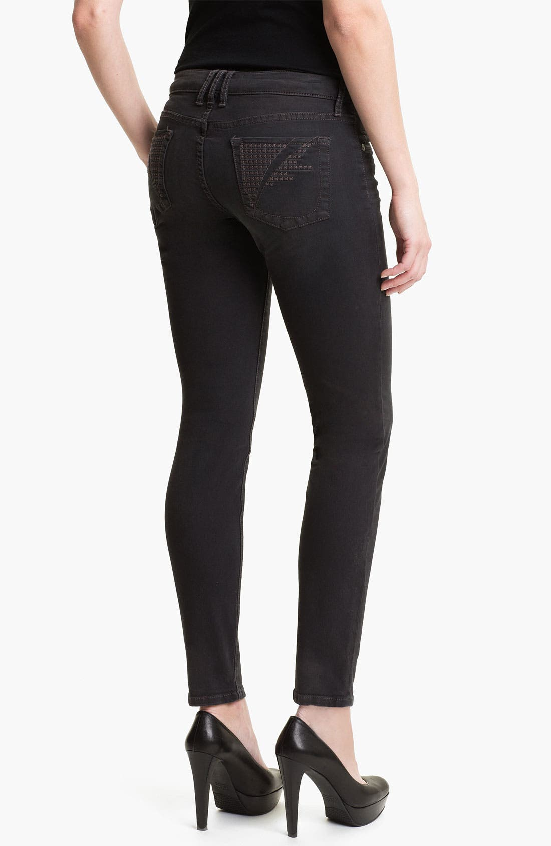 Alternate Image 2  - KUT from the Kloth 'Diana' Skinny Jeans (Heavenly)