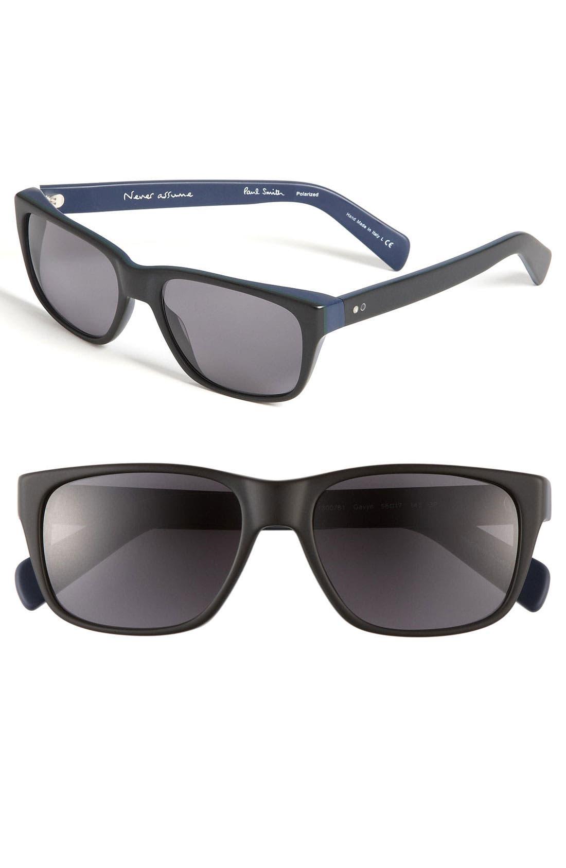 Main Image - Paul Smith 'Gavyn' Polarized Sunglasses