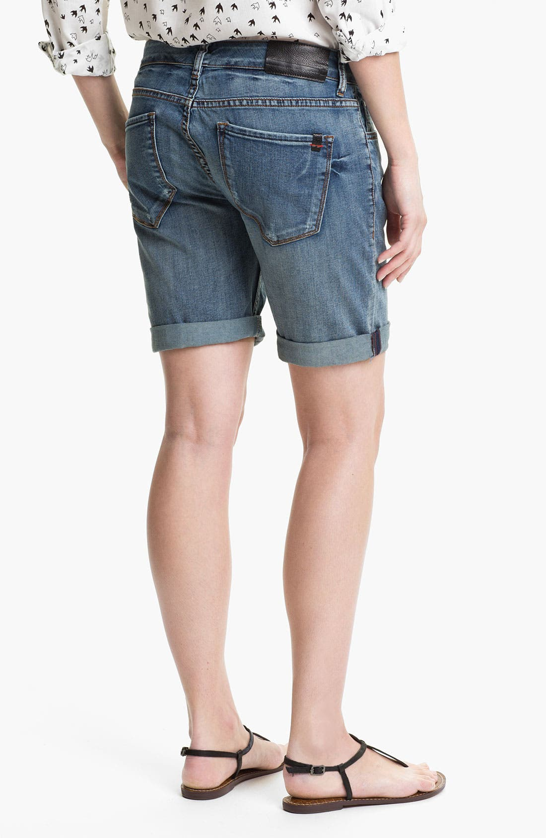 Alternate Image 2  - !iT Collective 'Picnic' Slouch Denim Shorts (Long Rider Fade) (Online Exclusive)