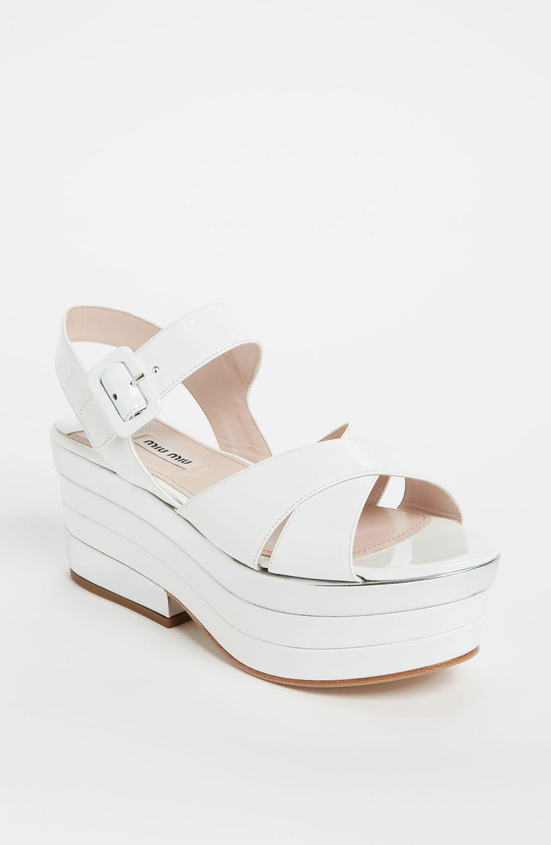 Main Image - Miu Miu Retro Sandal