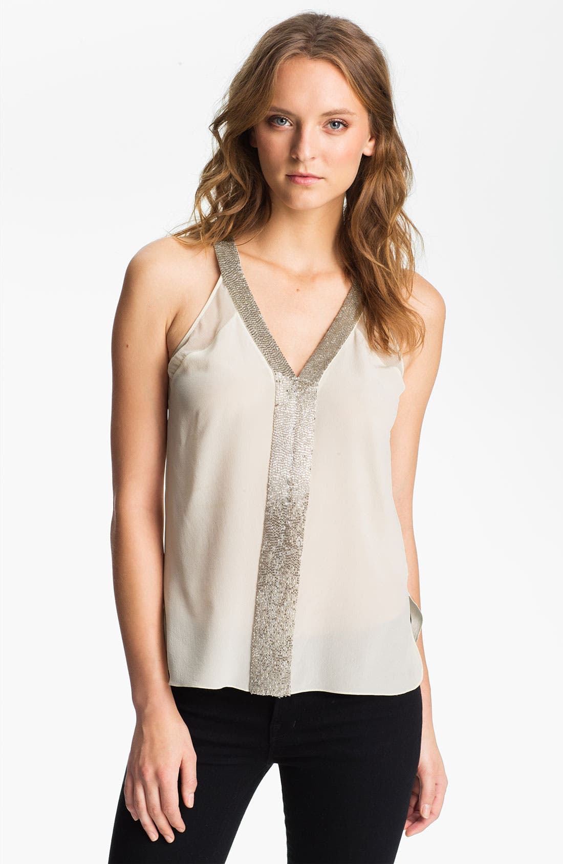 Alternate Image 1 Selected - Robert Rodriguez Embellished V-Neck Tank