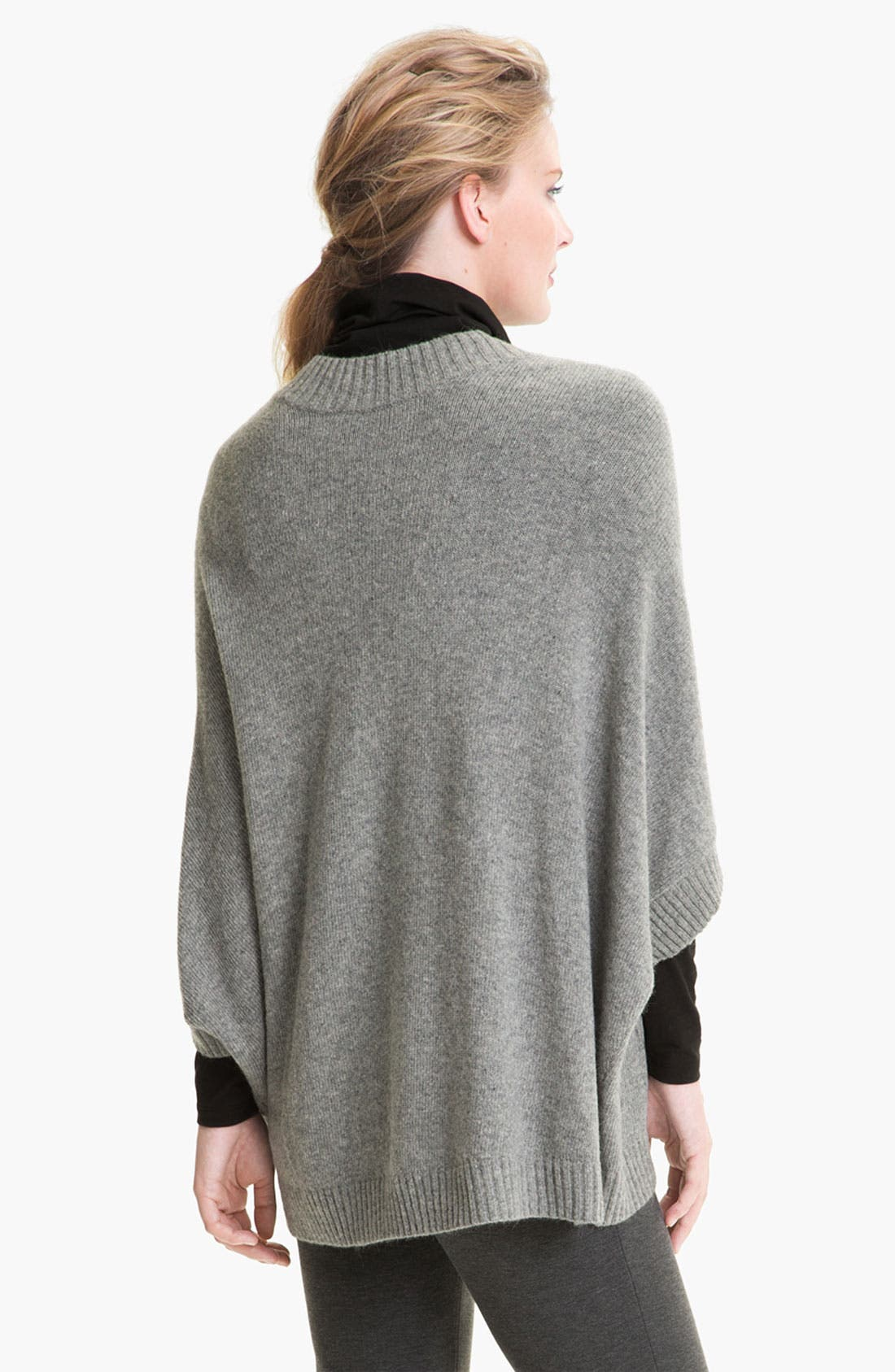 Alternate Image 2  - Lafayette 148 New York Wool Blend Poncho Pullover